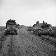 The British Army in North-west Europe 1944-45 B10244