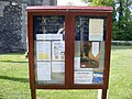 The Church of St. Mary Magdalene Notice Board, Hilton - geograph.org.uk - 1305524.jpg