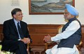 The Co-Chairman of the Bill and Melinda Gates Foundation, Mr. Bill Gates calling on the Prime Minister, Dr. Manmohan Singh, in New Delhi on July 25, 2009.jpg