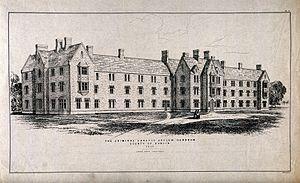Central Mental Hospital - Central Criminal Lunatic Asylum for Ireland, 1850