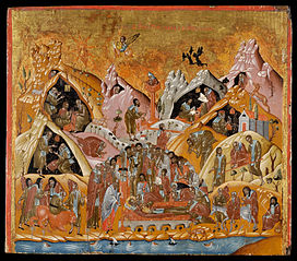 The Dormition of St Savvas