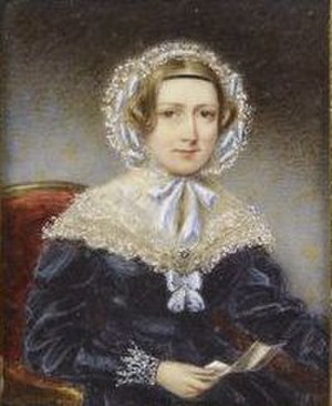 Charlotte Percy, Duchess of Northumberland - This 1839 portrait of the Duchess by Thomas Overton was bought by Queen Victoria in 1870.