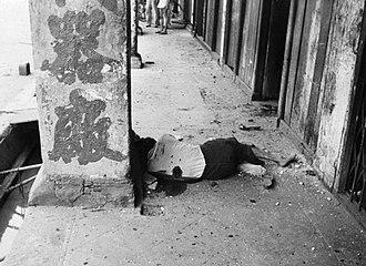 Bombing of Singapore (1941) - Image: The Far East Singapore, Malaya and Hong Kong 1939 1945 KF199
