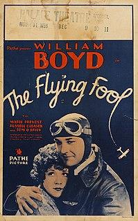 <i>The Flying Fool</i> (1929 film) 1929 film by Tay Garnett