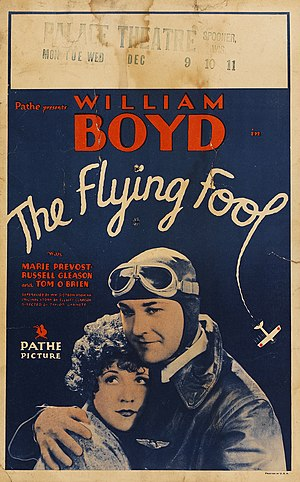 The Flying Fool (1929 film) - Image: The Flying Fool window card 1929