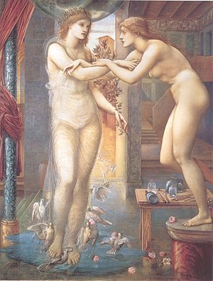 Pygmalion and the Image series - The Godhead Fires, 2nd Series, H.143.7 cm x W.116.8 cm (1878)
