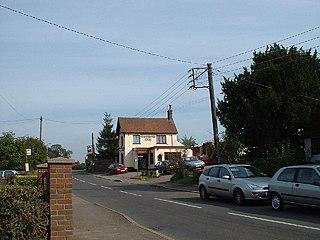 Lower Woodside village in the United Kingdom