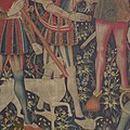 The Hunters Enter the Woods (from the Unicorn Tapestries) MET DP100990.jpg