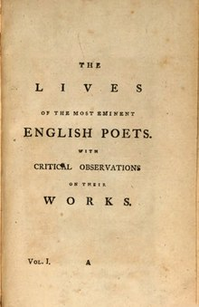 The Lives of the Most Eminent English Poets, Volume 1.djvu