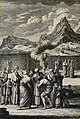 The Phillip Medhurst Picture Torah 537. Leprosy removed. Leviticus cap 13 vv 29-37. Heuman.jpg
