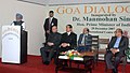 The Prime Minister, Dr. Manmohan Singh addressing at the inauguration of Goa Dialogues at International Centre Goa on December 28, 2007.jpg