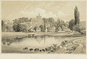 Brecon Cathedral - Priory Church, Brecon (c.1865)