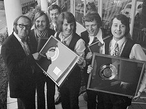 The Shuffles - The Shuffles in February 1970.