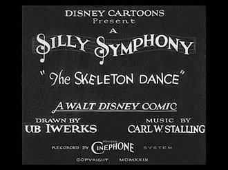 The Skeleton Dance - Image: The Skeleton Dance (1929)
