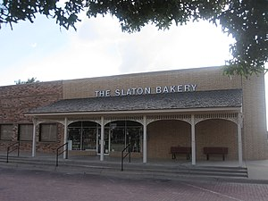 Slaton, Texas - The Slaton Bakery is one of the better-known businesses in the community.