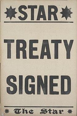 The Star placard Versailles Treaty signed.jpg