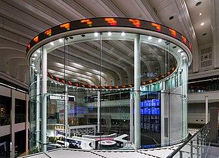 東京証券取引所の写真。Wikipediaより