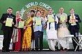 The Union Minister for Agriculture and Farmers Welfare, Shri Radha Mohan Singh releasing the publication at the inauguration of the 19th Organic World Congress 2017, at Greater Noida, Uttar Pradesh.jpg