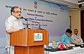 The Union Minister for Rural Development, Panchayati Raj, Drinking Water and Sanitation, Shri Chaudhary Birender Singh addressing at a 'National Workshop on Pre-Monsoon Water Conservation Measures', in New Delhi.jpg