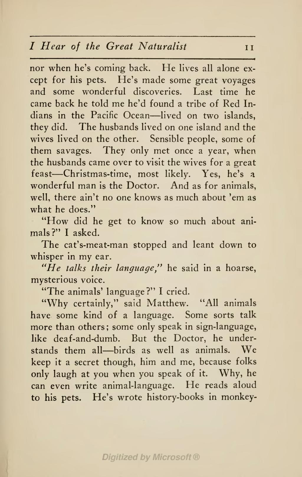 The Voyages Of Doctor Dolittle PDF Free Download