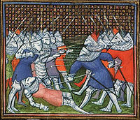The death of Sir John Chandos at Lussac.jpg