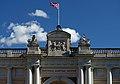 The detail of National Maritime Museum facade. Greenwich, UK.jpg