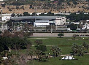 Tel Aviv Convention Center - Image: The exhibition centre area