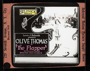 The flapper - glass slide - 1920.jpg