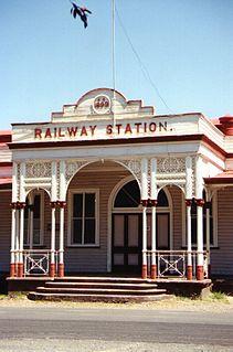 Emerald railway station, Queensland
