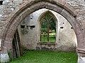 The ruined church of St. John the Baptist, Llanwarne - geograph.org.uk - 951605.jpg