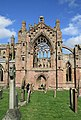 The south transept at Melrose Abbey - geograph.org.uk - 781605.jpg