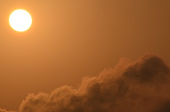 The sun above a cloud, in India.jpg