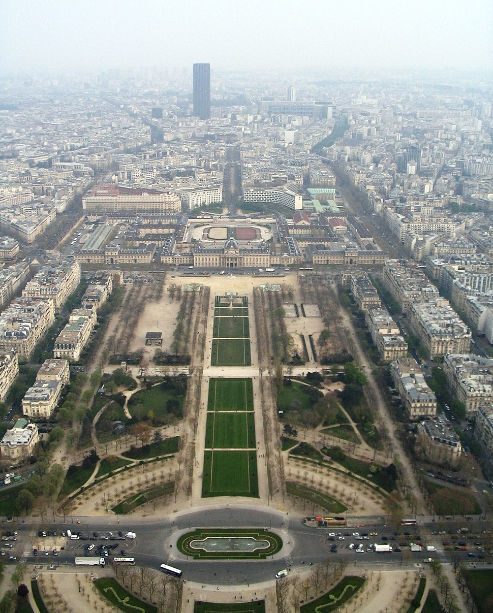 The view from Eiffel Tower2