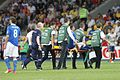 Thiago Motta injury Euro 2012 final.jpg