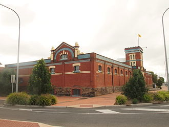 Mile End, South Australia - Former Thomas Hardy & Sons Ltd Wine Cellars, built in 1893 and since 1984 the Mile End campus of Temple Christian College.