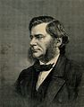 Thomas Henry Huxley. Wood engraving by (T. S.), 1870, after Wellcome V0003002.jpg