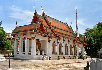 Bangkok Noi District - Wat Suwannaram