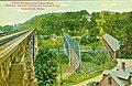 Three bridges over Green River postcard.jpg