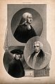 Three churchmen; John Wesley, William Paley, and Beilby Port Wellcome V0006791.jpg
