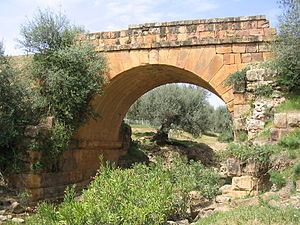 Thuburnica - Roman bridge of Thuburnica