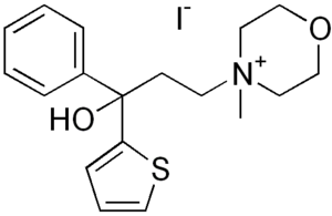 Tiemonium iodide - Image: Tiemonium iodide