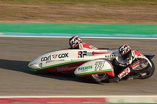 Tim Reeves British motorcycle racer
