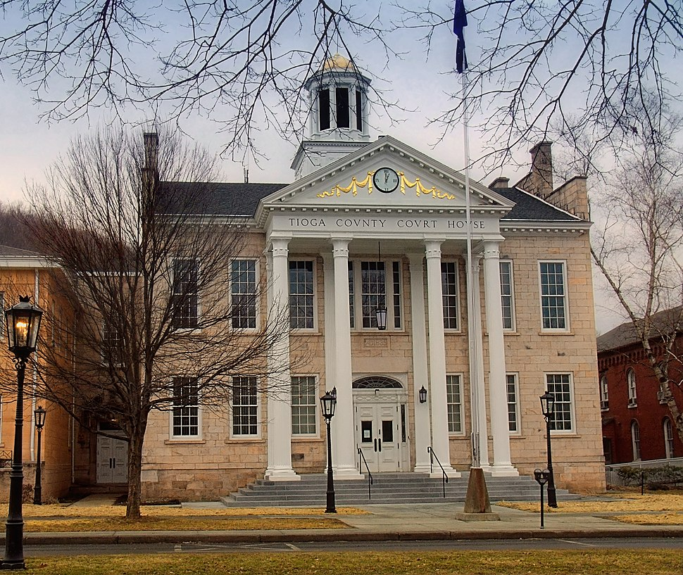 Tioga County Courthouse Official