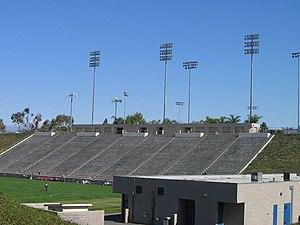Titan Stadium (Cal State Fullerton) - Image: Titan Stad B