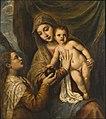 Tiziano - Madonna con Bambino e santa Maria Maddalena, Collezione privata, New York, 1530 - 1540.jpg
