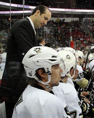 Todd Reirden - Reirden with the Penguins in 2011.