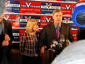 Tom Vilsack - Vilsack announcing his withdrawal from the race