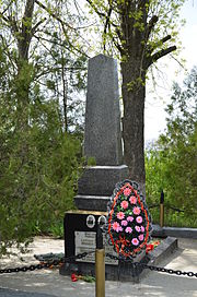 Tomb of the Unknown Soldier and Shestakov M.D. and Perepelytsya P.L (4), Shestakove, Vovchansk Raion.jpg