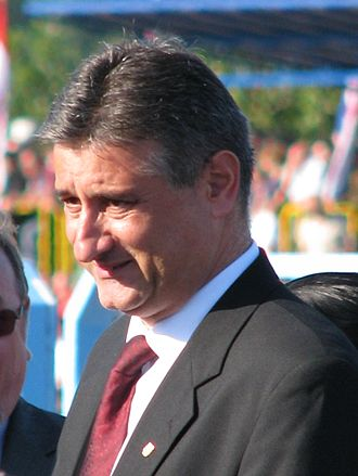 Croatian Democratic Union - Tomislav Karamarko, president of the HDZ from 2012 until 2016