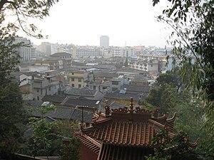 Tonghai County - Tonghai's county seat